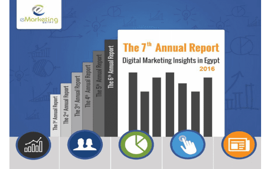 eMarketing Egypt revealed its 7th annual Digital Marketing Insights in Egypt survey results report. The DMI Report is considered the only insightful report about e-marketing in Egypt provides full-fledge insights coming to you in 4 main sections (Digital trends in Egypt, Egyptian internet users profile, internet usage insights, and the interaction to online ads).