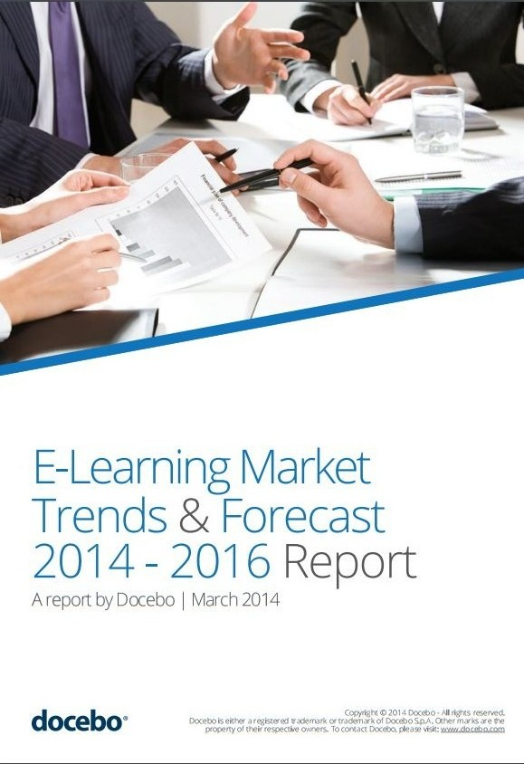 elearning-market-trends-and-forecast-2014-2016: This report, produced by Docebo, is aimed to help the decision maker who needs statements, arguments as well as facts and figures to prove, with real data, the added value of E-Learning initiatives to stakeholders.
