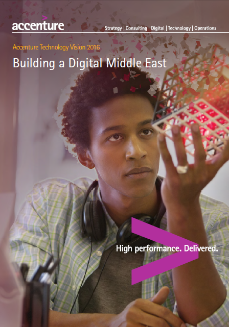 Building a Digital Middle East Q4 2016-Accenture, 45% of Middle East executives agree that automation, driven by artificial intelligence, will be embedded in every aspect of their businesses within 5 years.