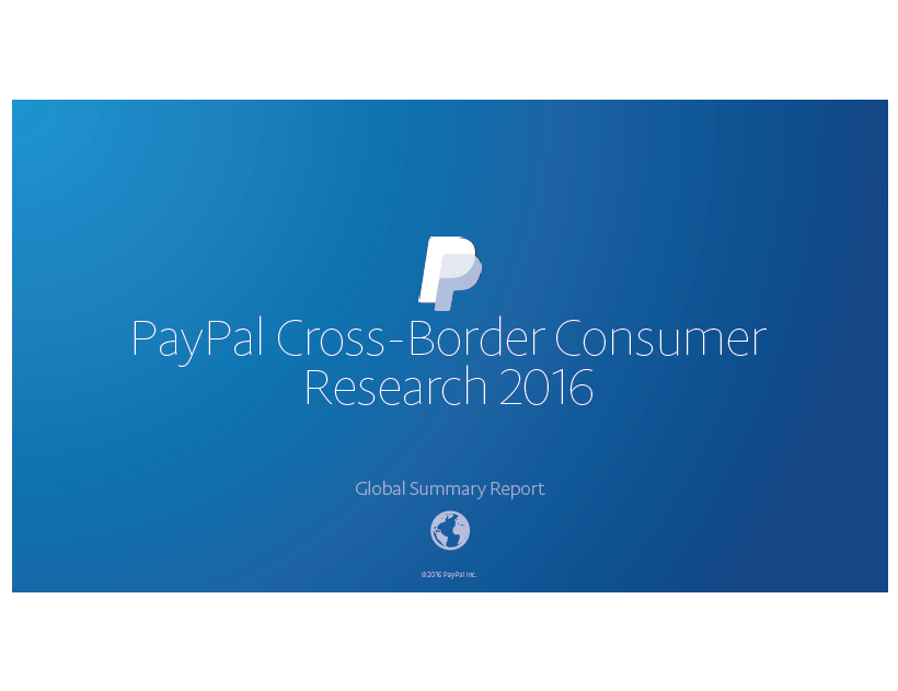 PayPal Cross-Border Consumer Research 2016 ,54% of online shoppers in the UAE are shipping domestically, 37% are shopping domestically and cross-border, and 10% are shopping cross-borders only.