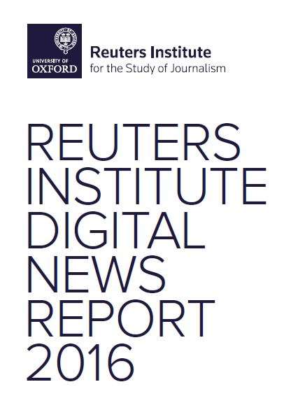 "The main challenge in digital media is the growth of ""news accessed via social media sites"" like Facebook, Twitter, Instagram, and Snapchat. Find more in the Digital Marketing Community., 2016 Digital News Report - Reuters Institute - Digital Marketing Community"