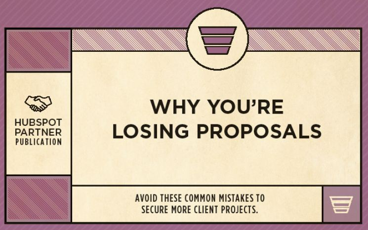 This free guide teach you how agencies can ensure that less proposals are lost by avoiding the 9 most common mistakes. Why they're losing the deal before even sent
