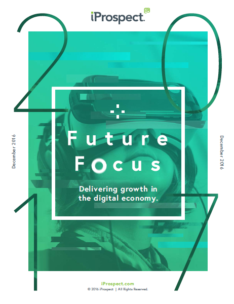 Future Focus Delivering Growth in the Digital Economy, Q1 2017 iProspect, It's clear that there are a number of key challenges that face brands if they are to grow in the digital economy, but the upside is huge for those who get it right.via 120 global clients asked about their views of the digital economy and the faced challenges, as they seek to grow and scale their businesses, you can find the core challenges facing brands indicators