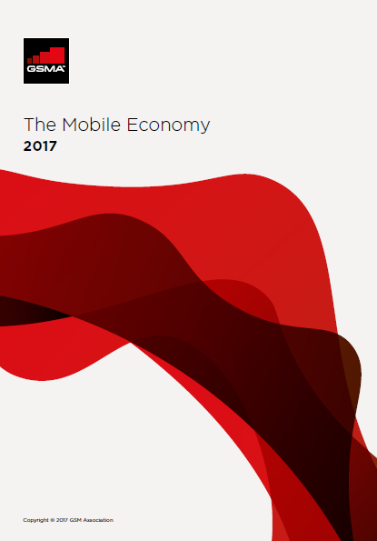 The Mobile Economy 2017-GSMA, By the end of 2016, two-thirds of the world's population had a mobile subscription, a total of 4.8 billion unique subscribers and by 2020.