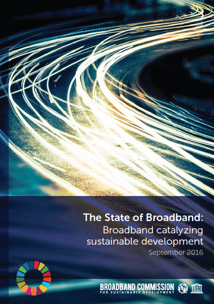 The State of Broadband: Broadband Catalyzing Sustainable Development