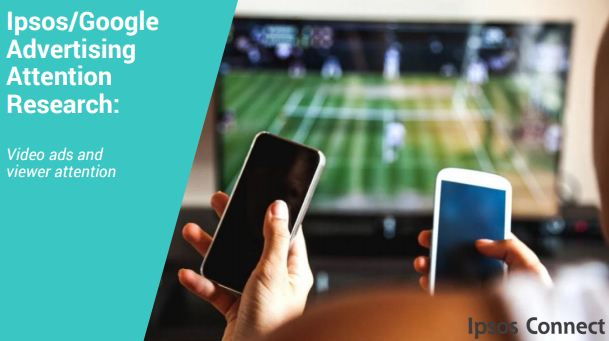 Ipsos/Google Advertising Attention Research, Mobile YouTube viewers do not multitask during ads to the degree that TV viewers do. 73% of TV viewers agree that a number of TV ads during their favorite shows is annoying.