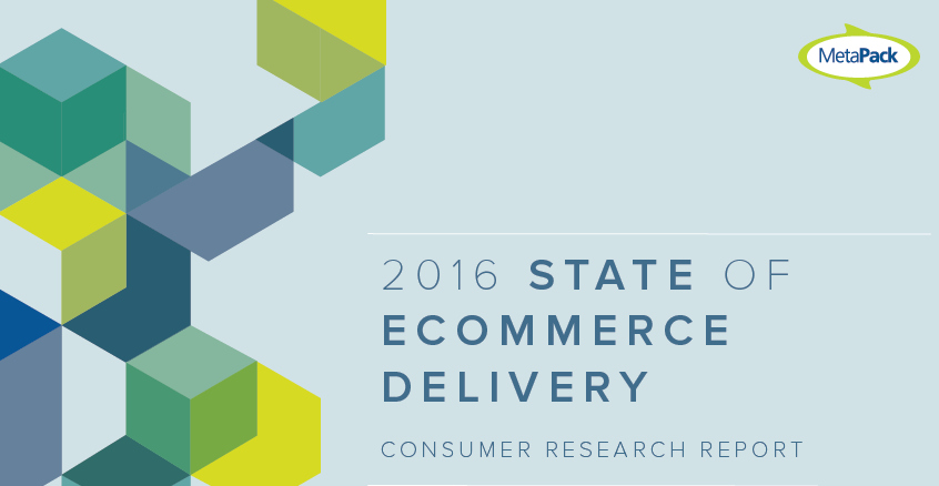 2016 State of E-Commerce Delivery MetaPack, A sample of 3589 European consumers in 7 countries was surveyed to know how delivery represents a key differentiating factor has a significant impact on...