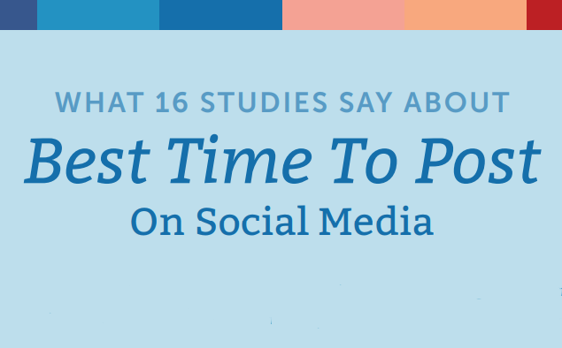 What 16 Studies Say About the Best Times to Post on Social Media in US | CoSchedule