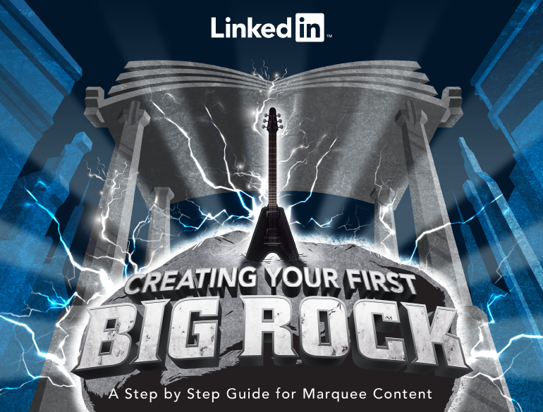 Creating Your First Big Rock | LinkedIn 1 | Digital Marketing Community