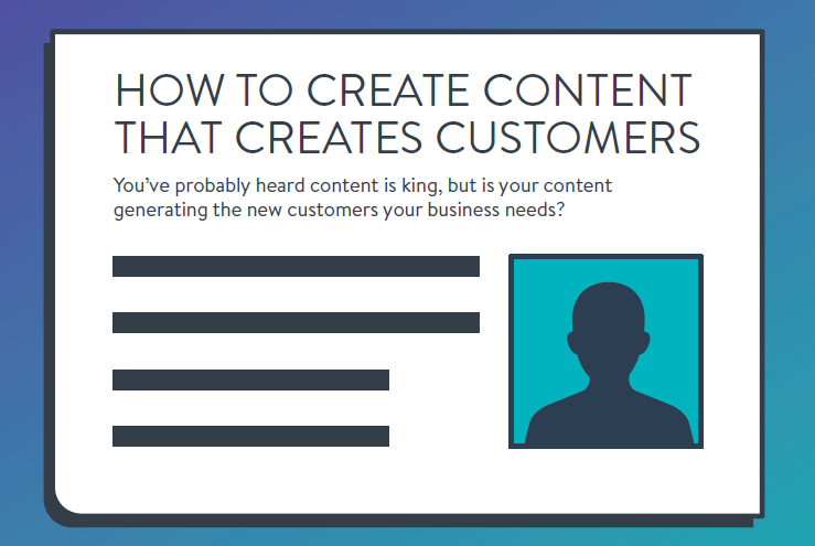 Infographic: How to Create Content That Creates Customers | PAYFORT 1 | Digital Marketing Community
