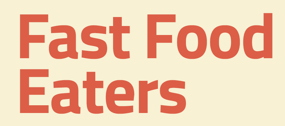 Infographic : Fast Food Eaters | globalwebindex