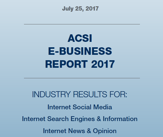 ACSI E-Business Report 2017