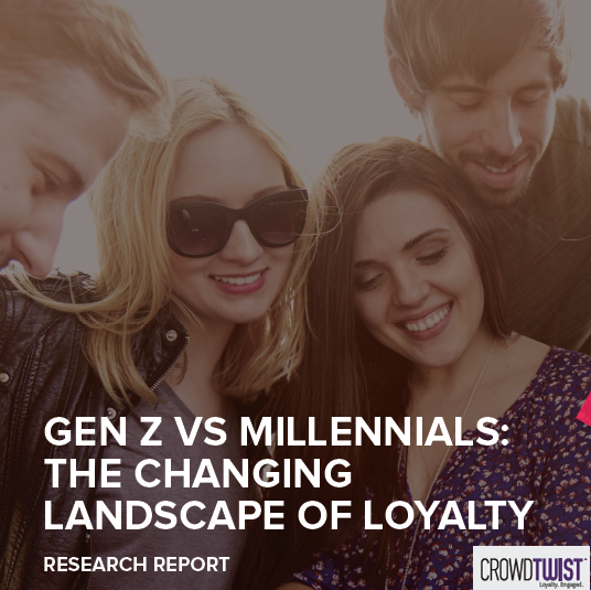 Generation Z vs Millennials: The Changing Landscape of Loyalty, 2017 | CrowdTwist