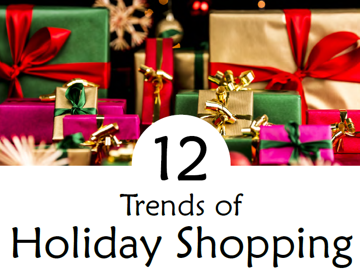 Infographic 12 Trends of Holiday Shopping, 2016 Market Track