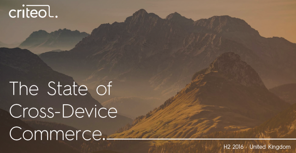 Consumers nowadays use multiple devices in the purchase journey – from searching and browsing to buying. Read and recognize the state of cross-device commerce in UK as mentioned below:, The State of Cross-Device Commerce in UK, H2 2016 Criteo
