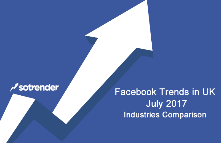 Facebook Trends in UK, July 2017 Sotrender