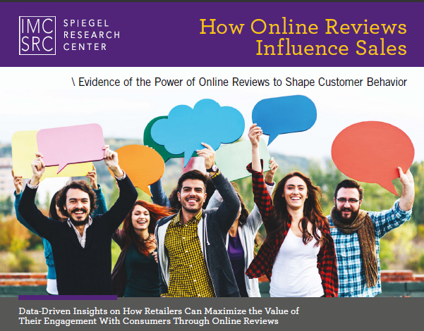 How Online Reviews Influence Sales, Jun 2017 | Spiegel Research Center