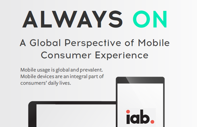 Infographic: Global Mobile Experience, 2017 | iab