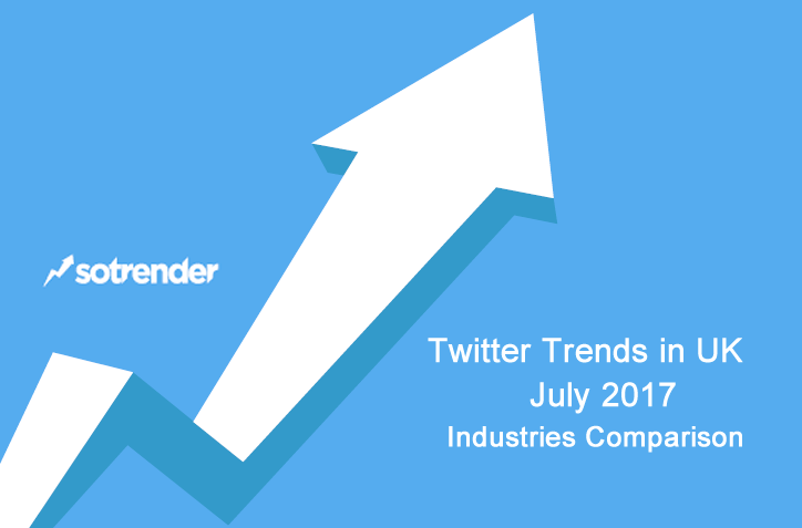 Twitter Trends in UK, July 2017 Sotrender