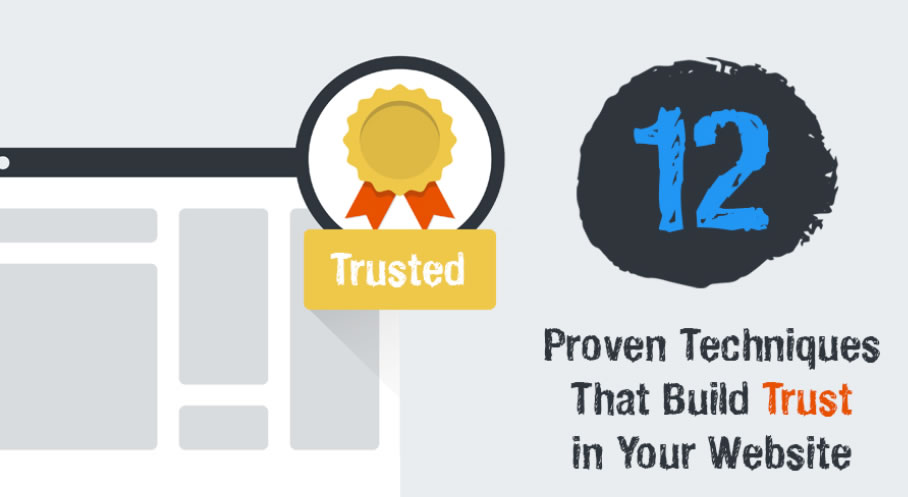 Infographic 12 Proven Techniques That Build Trust in Your Website | Red Website Design