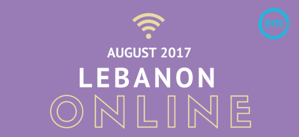 Infographic: Lebanon Online, August 2017 | Effective Measure 1 | Digital Marketing Community