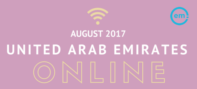 Infographic: UAE Online, August 2017 | Effective Measure