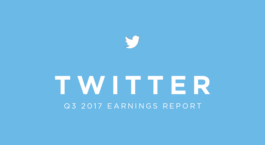 Twitter Q3 2017 Earnings Report | twtr Revenue of the Q3 2017