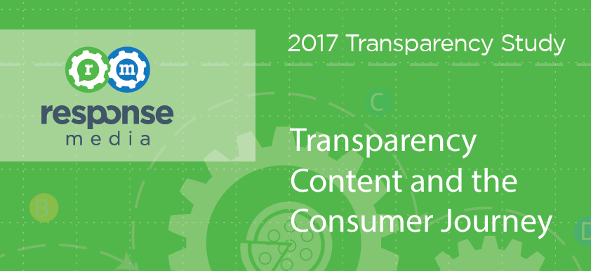Transparency Content & Consumer Journey for US Moms & Gen X Dads, 2017