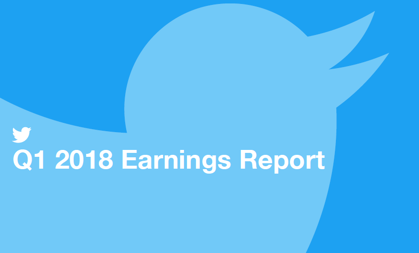 Twitter Earnings Report, Q1 2018 | Twitter | Digital Marketing Community