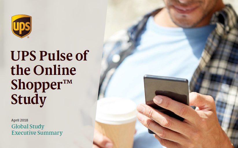Global Study of Online Shopper, 2018 | UPS | Digital Marketing Community