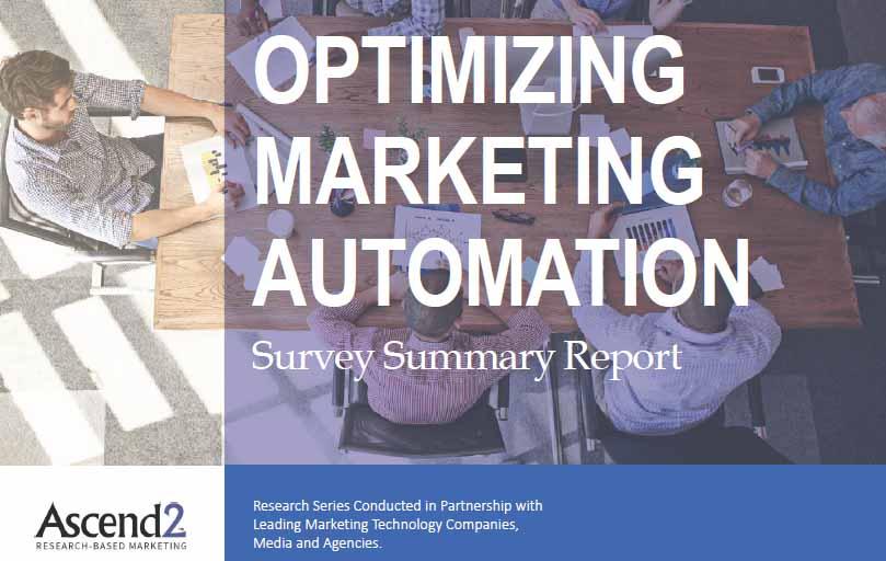 Optimizing Marketing Automation | Ascend2 | Digital Marketing Community