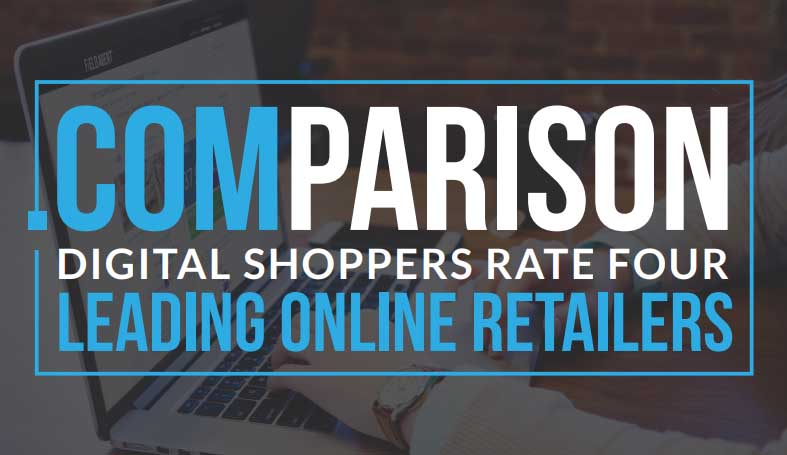 Comparison: Shoppers Rate 4 Leading Online Retailers, 2018 | Field Agent 2 | Digital Marketing Community
