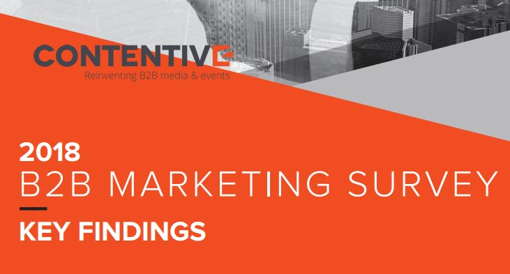 2018 B2B Marketing Survey - Contentive - Digital MArketing Community