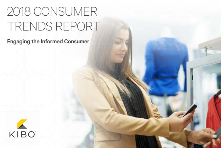 2018 US Consumer Trends Report: US Online Shoppers' Behavior - Kibo