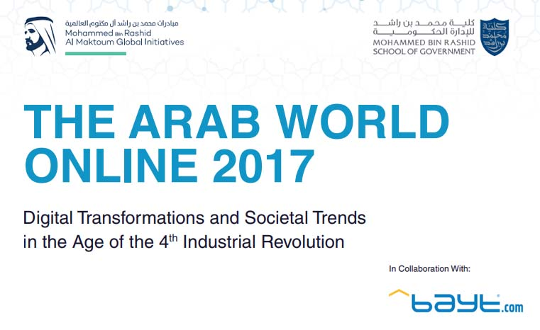 The Arab World Online 2017 | MBRSG and Bayt.com 2 | Digital Marketing Community