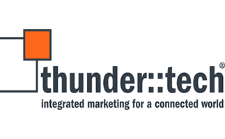 thunder::tech is an integrated marketing agency that connects the THUNDER of rampant creativity with the TECH of innovative systems to accelerate middle-market and enterprise brands into the future. It uses this balanced approach to mix the artistry of advertising and branding with the science of data and technology. Its team members specialize in social media strategy, marketing automation, web optimization, website development, print collateral, logo & identity design, video & animation, and content strategy.