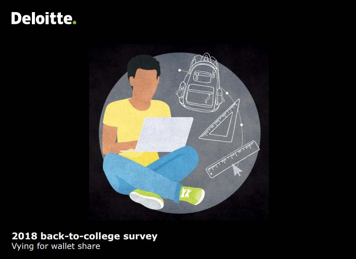 2018 Back-to-College Survey: US Consumers | Deloitte 1 | Digital Marketing Community