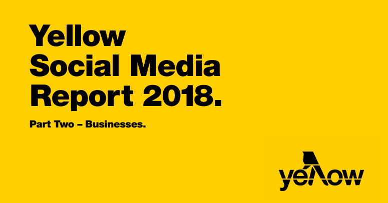 The Use of Social Media by SMBs and Large Businesses in Australia, 2018