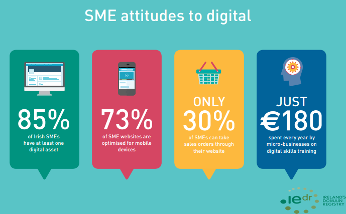 The Irish Small to Medium Enterprises Attitudes Toward Digital, 2018