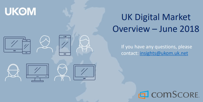 UK Digital Market Overview – Q2 2018 | UKOM & comScore 2 | Digital Marketing Community