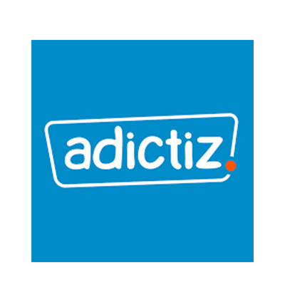 At Adictiz help brands perform through the Game. Convinced that the Game is the most effective media for recruiting, engaging and converting an audience, Adictiz publishes the Adictiz Box platform. Turnkey solution and 100% customizable, it allows brands to create their games and applications in a few clicks and without technical expertise on all media Web, Mobile and social networks (Facebook, Twitter, Instagram, Youtube, Pinterest ...). With increased expertise in user acquisition, Adictiz offers a complementary solution called Adictiz Ads to maximize the distribution and performance of brand campaigns, including generating leads, clicks, fans and followers.