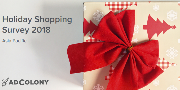 Holiday Shopping Survey 2018 Asia Pacific