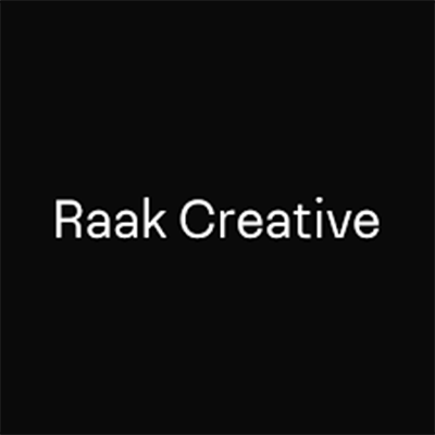 Raak Creative is a full-service creative agency specializing in brand identity, digital design and digital development. Bridging the gap between beauty and function, they devise thoughtful solutions for brands and digital products to result in engaging and effective experiences. Working with businesses of all sizes from a diverse range of industries, Raak Creative have helped their clients achieve their goals with transparency, relevancy and innovation, all while keeping things as simple as possible.