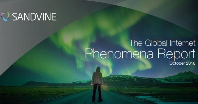 2018 Internet Phenomena Report - Sandvine