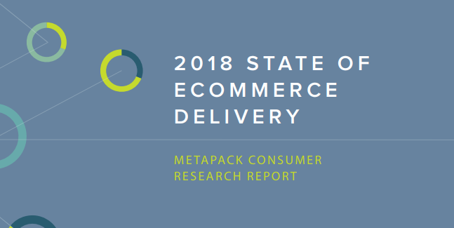 2018 State of eCommerce Delivery Report, MetaPack