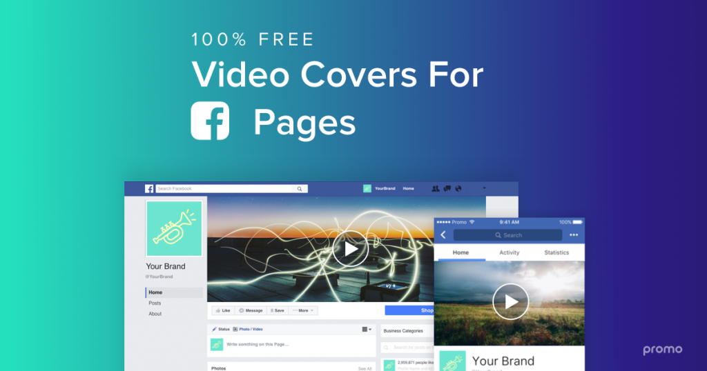 Promo Free Facebook Video Covers Software 1   Digital Marketing Community