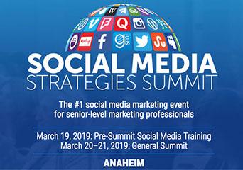 Social Media Strategies Summit 2019