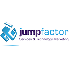Jumpfactor is an Inbound Marketing Digital Agency specialized in marketing for services and technology firms. Major verticals include IT Services/ MSPs, Legal, Accounting, Architecture Firms, Engineering Firms, Construction Firms, Government Consulting, Software/Technology, Business Consulting and other services fields. Their team utilizes a specialized methodology called the E4 process throughout all campaigns. This process has been proven to generate high ROI which accelerates as campaigns progress. Jumpfactor has domain experts on staff who come from various vertical backgrounds in line with their verticals. This includes lawyers, engineers and other domain experts who contribute to creating high authority content and effective campaign results.