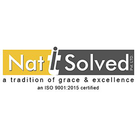 With more than five years of global presence, Nat IT Solved Pvt. Ltd. (link is external) has been a trusted name in the IT industry. Packed with the sharpest individuals NatIT Solved have been dedicated to providing a complete line of IT services that include Mobile App Development, Software Development, Web Design & Development along with 360 Degree Digital Marketing and Branding Services.Their client base includes start-ups, digital agencies, small, medium and big sized firms and generally folks who need to outsource any overflow work from different countries all over the world to India.