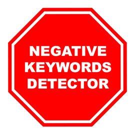 AdWords Negative Keywords Tool